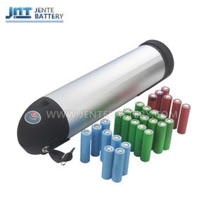 Frete grátis recarregável bateria de lítio-íon de lítio-íon de 24 volts 15AH Garrafa De Lítio Li-ion Battery para 350 W 250 W Motor Da Bicicleta + 2A carregador