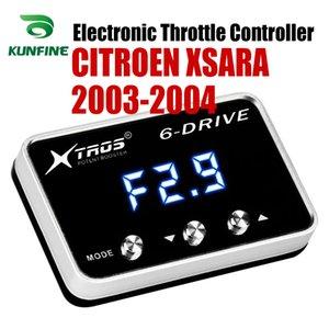 CITROEN XSARA 2003 2004 Tuning Parça Aksesuar için Araç Elektronik kısma Kontrolörü Yarışı Hızlandırıcı Güçlü Booster