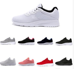 2019 뜨거운 판매 Tanjun 실행 신발 남성 여성 블랙 낮은 경량 통기성 런던 3.0 올림픽 스포츠 운동화 트레이너 크기 36-45