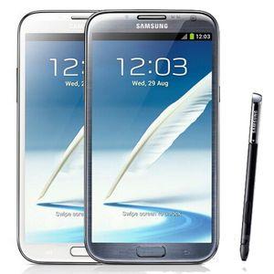 Reformierte Original Samsung Galaxy Note 2 N7100 N7105 5.5 Zoll Quad Core 2 GB RAM 16 GB ROM entriegelte 3G 4G LTE Smart-Handy-freien DHL5pcs