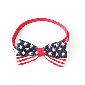 Ручной собака галстук лук полосатый пентаграмма шаблон галстук-бабочка для собак 6031068 Pet аксессуары Оптовая