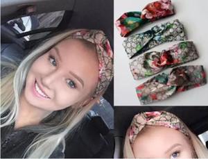 Tasarımcı Kafa Kafa Eşarp Kadınlar Için Çiçekler Ve Hummingbird Baskı Lüks Ipek Çapraz Saç Bandı Ile Elastik 4 Renkler Türban