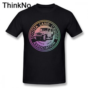 Ragazzo all'ingrosso sconto Land Cruiser Association Inverti arcobaleno distressed Car Tee Shirt Streetwear T-shirt