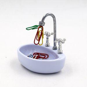 Özgünlük Ofis Malzemeleri Pratik Priz Havzası El lavabo şekli Kağıt tutucu ataç Kullanılabilir Kullanımlık Çevre Dostu 5 5zf k1