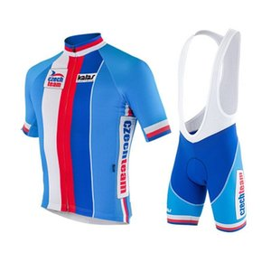 Wholesale-CZECH TEAM 2015 New Cycling Jerseys Roupa Ciclismo Breathable Racing Bicycle Clothing Quick-Dry GEL Pad Bike Set