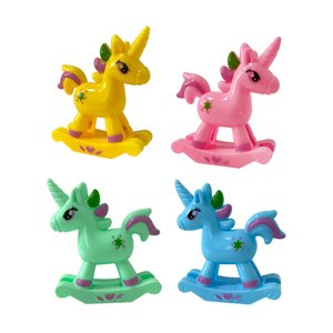 Kindergarten gifts small toys cartoon rainbow rocking horse twisted toy small gifts baby puzzle candy toys