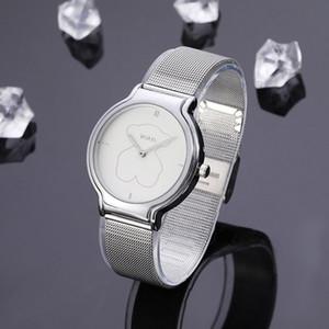 2020 nuovo progettista orologi moda orologi di lusso Uomini e donne guardano vigilanza di marca tous cintura quarzo orologio della maglia di alta qualità