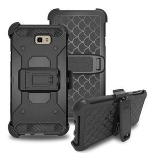 For Samsung A6 J2 Core Note9 J8 2018 J737 J337 J2 PRO S9 PLUS Rebel Series Rugged Tough Case with Secure Clip Holster