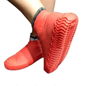 Water Proofing Boot Silicone Solid Colors Practical Shoe Cover Outdoor Rain Snow Overshoe S M L 7 5pd E1