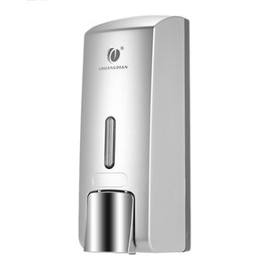 Wall-mounted Single Bottle Manual Soap Dispenser Shampoo Box Washroom Toilet Hand Washing Liquid Shampoo Shower Gel Machine