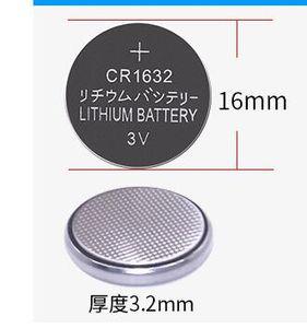 100% Genuíno Botão Baterias CR1632 16 * 32mm 3 V 300 mah Bateria De Lítio De Dupla Potência Para Controle de Chave Do Carro Do Veículo DL1632 ECR1632 GPCR1632