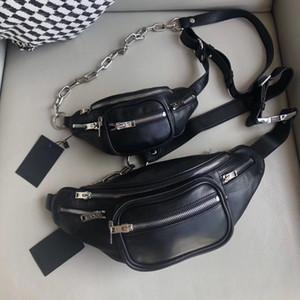 Designer-clássico designer de fannypack saco da cintura tendência da moda estilo de rua zip decoração vendendo hot-unisex boca fechada método de múltiplos de volta