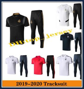 Футболка поло Real Madrid Mens 2019 Трикотажные изделия camiseta de futbol BENZEMA MODRIC ISCO Рубашки поло Реал Мадрид, футболка 19 20