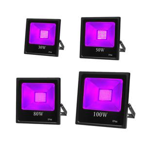 UVA 365nm lumière ultraviolette haute puissance Projecteur LED IP66 année étanche pour Blacklight Party, étape d'éclairage, peinture corps
