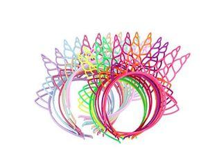 Пластиковые ободки для волос единорога Обруч для волос для девочек Подростки Малыши Дети Партии ленты для волос Фэнтези-вечеринки Сувениры ленты для волос Необычные платья Cos Decor
