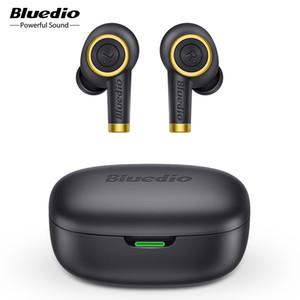 fones de ouvido sem fio Bluedio Particle Bluetooth 5.0 fones de ouvido à prova d'água para a música / esportes, super bateria de longa duração mais de 30 horas