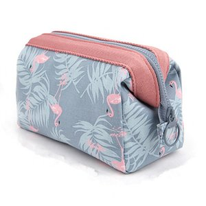 New Arrive 2019 Cosmetic Bag Women Necessaire Make Up Bag Travel Waterproof Portable Makeup Toiletry Kits High