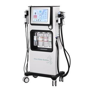 2019 حديثا 7 في 1 RF الموجات فوق الصوتية آلة هيدرا اللوازم الطبية الأكسجين جت آلات الوجه معدات العناية بالبشرة الوجه