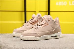 Zapatos para mujer 3 III de oro rosa de baloncesto de alta calidad 3s SE partículas Beige entrenadores deportivos zapatillas de deporte Tamaño EU36-40