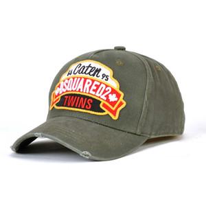 New Cotton Berretto da baseball Lettera ricamato cappello di alta qualità per uomo e donna Wear cliente marche famose ICON Cap Black Cap anatra lingua H
