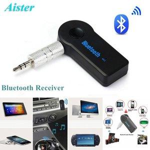 Receptor Bluetooth Portátil 3.5mm Streaming Car Adaptador Receptor de Música de Áudio Sem Fio Bluetooth AUX com Microfone para Telefone / PC