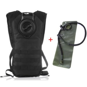 2.5L Water Sac With Molle Tactical Backpack TPU EVA Military Hiking Bicycle Backpacks Sports Cycling Climbing Camping Bag