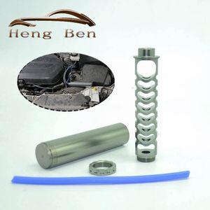 """10"""" 6"""" Aluminium 1/2 - 28 oder 5/8 - 24 Filter für die NAPA 4003 WIX 24003 Auto-Kraftstoff-Filter Autolösungsmittelfalle"""