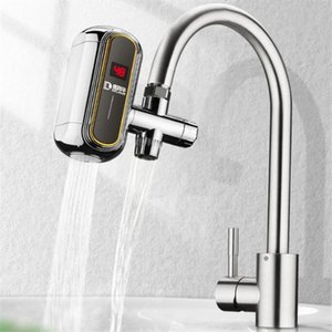 Inteligente torneira da cozinha Aquecedor de Água Elétrico Hot Fria Tap Display de temperatura Instalação grátis