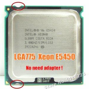Ucuz CPU'lar Xeon E5450 İşlemci 3.0GHz 12M 1333Mhz lga 775 anakart gerek adaptör üzerinde istihbarat Q9650 çalışmalarına eşit