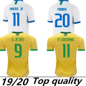 2019 Brezilya Amerikan Kupası futbol takımı forması Brezilyalı erkekler jersey FIRMINO futbol forması kadın Dünya Kupası özel futbol gömlek