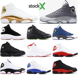 avec chaussette libre 2020 chaussures de basket-ball chaussures de course 13 13s mens blanc VERT chapeau et robe MELO HE GOT baskets jeu de sport de formateurs