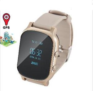 NOVA T58 Crianças Relógio Inteligente GPS Wifi Rastreador Inteligente Antil-lost Bebê Sono Rastreador De Fitness SOS Crianças Smartwatch Estudante Smartwatch.
