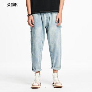 Enjeolon 2020 nuovi uomini Denim Jeans Moda Uomo Casual pantaloni lunghi per Maschio NZ4209
