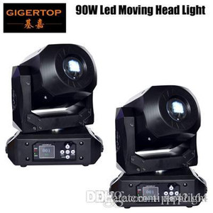 2xLot Mini LED DMX gobo Moving Head Spot Light Clube 90W DJ Stage Iluminação Festa Disco Moving Heads Luz