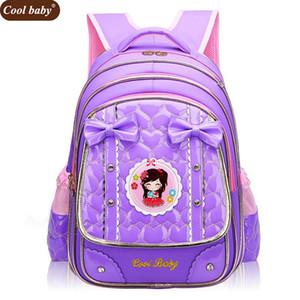 Cool Baby New School Bags for Girls  Children Backpack Cheap Shoulder Bag Fashion Wholesale Kids Backpacks D271