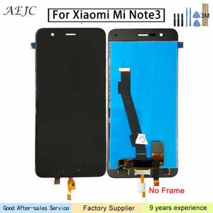 """5.5"""" Pour Xiaomi Mi Note 3 écran LCD écran tactile Assemblée Digitizer avec capteur d'empreintes digitales Pour Xiaomi Mi Note3 écran tactile"""