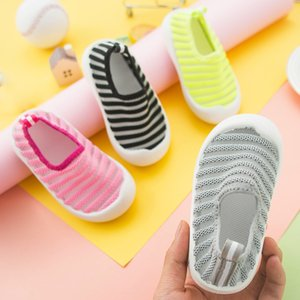 Mesh Breathable Baby Shoes Infant Toddler Soft Sole Anti-slip Shoes Durable Sneakers Newborn Baby Boy Girl First Walkers Shoes DBC DH1430-1