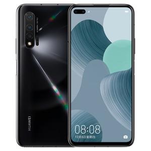 Original Huawei Nova 6 4G LTE Handy 8 GB RAM 128 GB ROM Kirin 990 Octa-Core 6,57 Zoll Full Screen 40MP Fingerabdruck-ID intelligenten Handy
