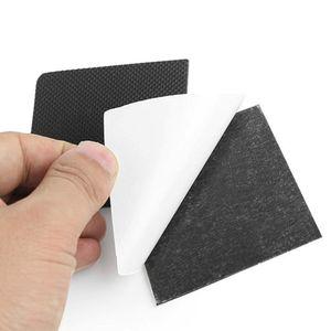 1 Par Negro de la plantilla etiqueta de tacón alto Zapatos de mujer no Slip cinta Negro Cuttable Señora de protección anti Skid Sole S / L