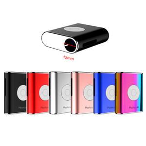 Orijinal Airis Mystica R Pil Mod E Sigara VV Pil 450 mAh Gerilim Ayarlanabilir Vape Mods Kartuşları için 12mm Çapı 5 Renkler