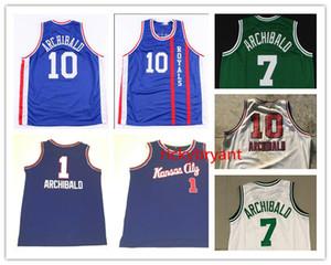 Баскетбол Джерси колледж Cincinnati Nate 10 Archibald Rembeback Jersey Mesh сшитая вышивка 7 архибальд зеленый пользовательский размер S-5XL