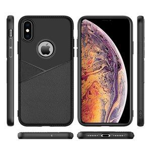 Contraportada durable del teléfono del portatarjetas de la venta caliente de 2019 productos para el caso de la cartera de Iphone 7 a prueba de choques de cuero