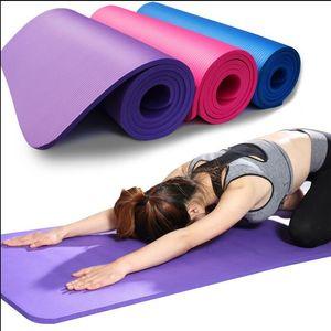 Nave Da: USA NBR Yoga tappetini Pad Lose Weight Solido Colore Sport Salute 183 * 61 centimetri Yoga Coperta FY6016