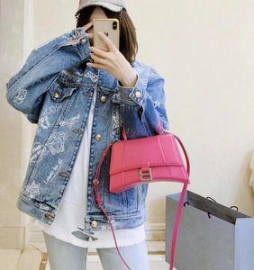 Nuova pelle a cinque stelle di qualità signore clessidra bag designer francese borse di stile signore di modo con la pelle di spalla lunga tracolla Messenger