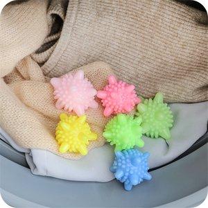 Dropship Karşıtı sarma Giyim Yıkama Topu Çamaşır Temizleme Topu Yeniden kullanılabilir yumuşatır Kurutucu Ball Çamaşır Ürün Çamaşır Makinesi wh0478 için