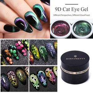 60 cores Soak Off Gel UV Polish 5D 9D Gel Magnetic Manicure Nail Art Lacquer Verniz NASCIDA BONITA Gel do olho de gato Nail Polish
