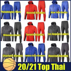 2020 Баскетбольные клубы Hoodies Толстовка Одежда баскетбольной ассоциации мужчин Спортивные Tracksuit работает Hoodie костюм моды спортивный костюм
