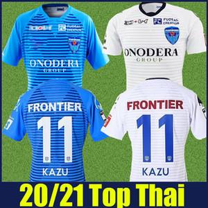 2020 2021 Yokohama FC maillots jérsei de futebol de pé camisa de futebol KAZU Yokohama FC uniformes de futebol 20/21 Camiseta de futbol
