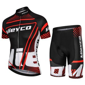MIEYCO Summer Cycling Jersey Set Short Sleeve Bike Racing Suit MTB Bicycle Uniform Jersey Downhill Off Road Clothing
