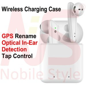 GPS Rename AP2 AP3 Mini TWS Bluetooth Earbuds H1 Chip Wireless-Ladetasche Optische In-Ear-Erkennung Pods PK Air 2 3 Pro i200 i12 i9 i500